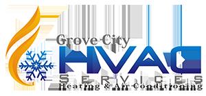 Grove City HVAC Services Logo